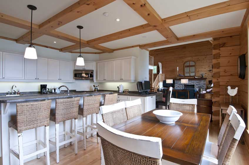 Pleasing Top 6 Log Home Kitchen Trends For 2016 Custom Kitchens Toronto Home Interior And Landscaping Ferensignezvosmurscom