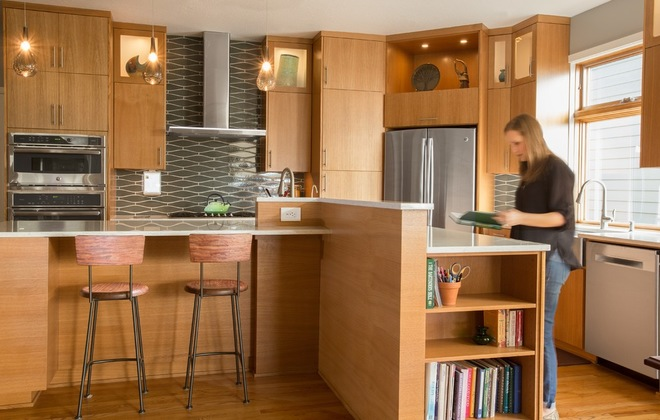 Contemporary Kitchen by Henderer Design + Build